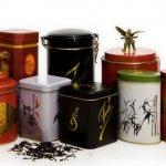 Коробочки для чая