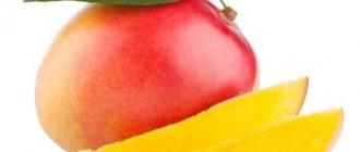 Плод и дольки