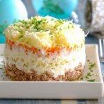 Салат «Мимоза» — 7 вкусных классических рецептов